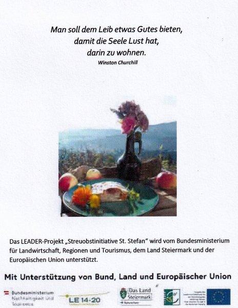 Das St Stefaner Kochbuch Ist Erschienen Gemeinde St Stefan Ob Stainz
